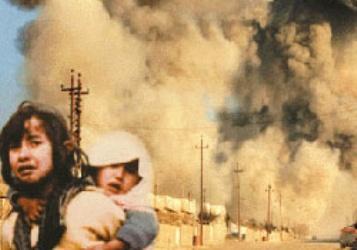 حمله وحشیانه شیمیایی عراق در زمان صدام حسین به مردم بی دفاع سردشت طی جنگ هشت ساله تحمیلی