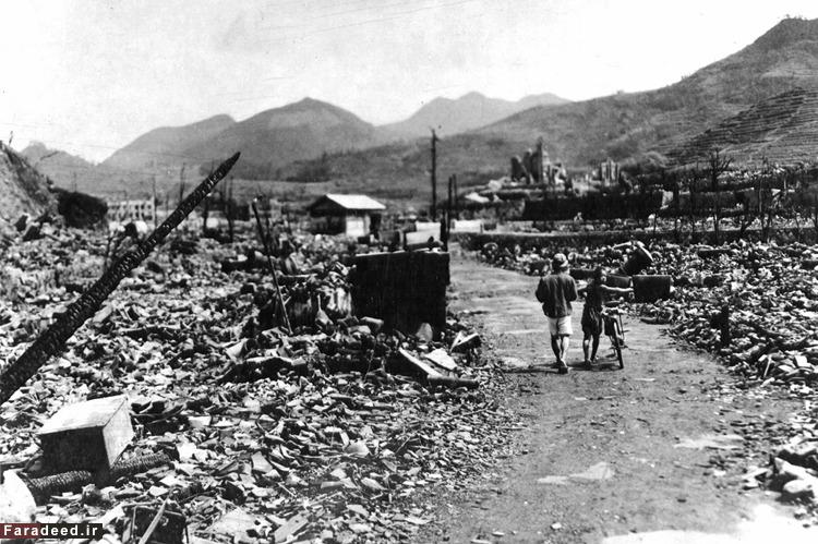 بازماندگان حمله اتمی آمریکا به ناکازاکی در پایان جنگ جهانی دوم