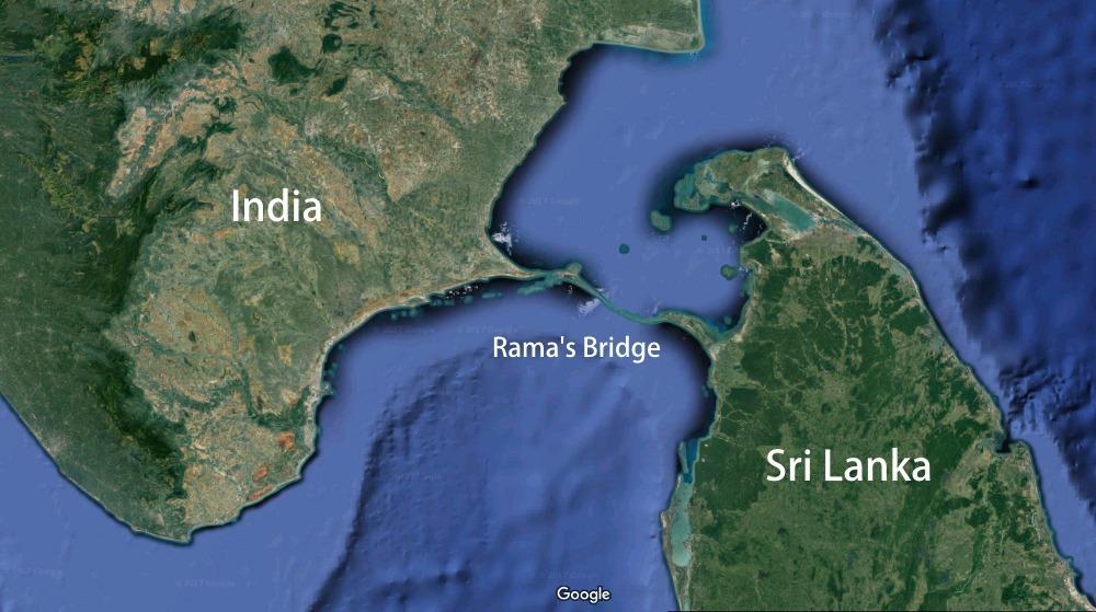 راما، پلی که به دست میمون ها ساخته شده که راه ارتباطی افسانهای بین سریلانکا و شبه قاره هند بود