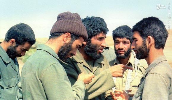 شهیدان حسین خرازی و حاج احمد کاظمی