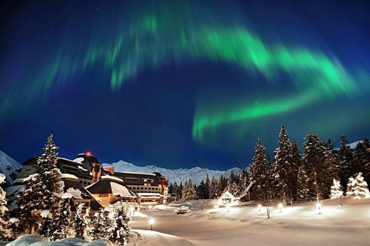 هشت جای فوق العاده دنیا برای رصد شفق قطبی (آمریکا)