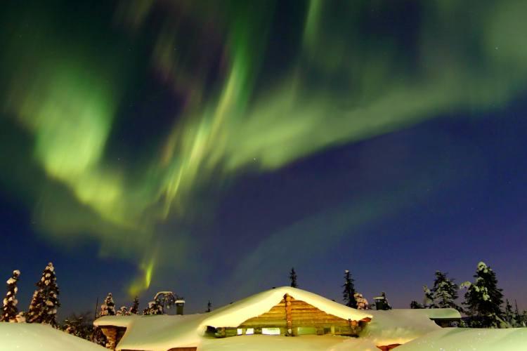 هشت جای فوق العاده دنیا برای رصد شفق قطبی (فنلاند)