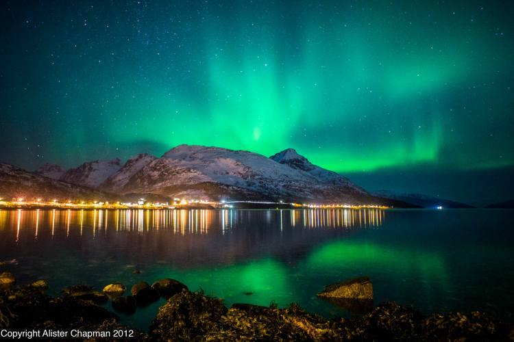 هشت جای فوق العاده دنیا برای رصد شفق قطبی (نروژ)