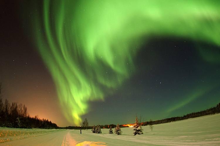 هشت جای فوق العاده دنیا برای رصد شفق قطبی (کانادا)