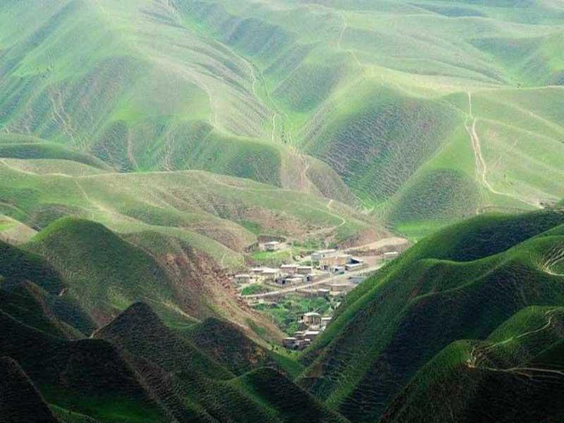 تپه ماهورهای گلستان