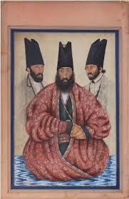 محمد ناصر خان ظهير الدوله لاری اثرى آبرنگى از صنيع الملك