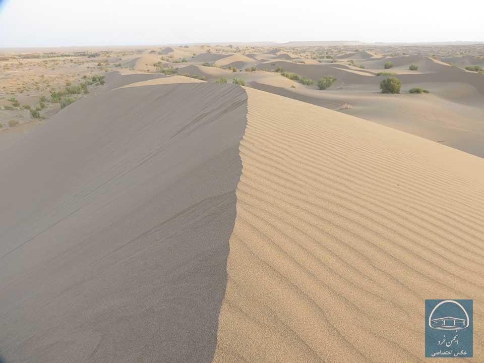 رملهای شنی کویر مصر