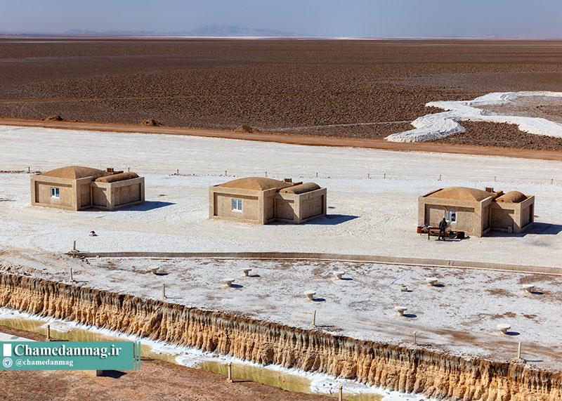 سوئیتهای اقامتی دهکده گردشگری نمکی خور و بیابانک
