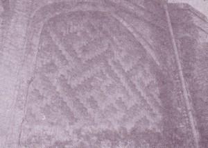 قسمتی از آجر کاری نمای بیرونی گنبد علویان در همدان