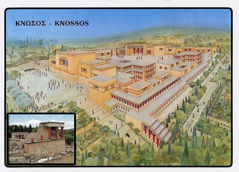 بازسازی کاخ کنوسوس